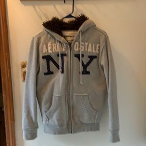 AREO FUZZY HOODIE